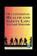 Occupational Health   Safety Law Cases   Materials 2 e