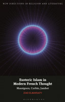 Esoteric Islam in Modern French Thought