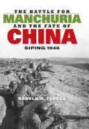 Pdf The Battle for Manchuria and the Fate of China