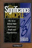 The Significance Principle