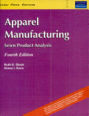 Apparel Manufacturing  Sewn Product Analysis  4 E