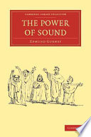 The Power of Sound Book