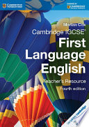 Books - Cambridge Igcse� First Language English Teacher Resource Book | ISBN 9781107651944