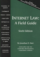 Internet Law Book PDF