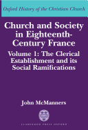 Church and Society in Eighteenth-Century France