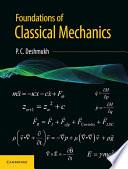 Foundations Of Classical Mechanics