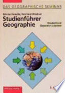 Studienführer Geographie