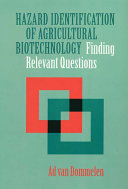 Hazard Identification of Agricultural Biotechnology