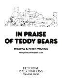 In Praise of Teddy Bears
