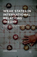 Weak States in International Relations Theory Pdf/ePub eBook