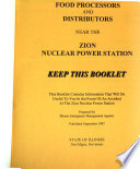 Emergency Information for Illinois Farmers, Food Processors and Distributors Near the Zion Nuclear Power Station