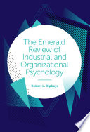 The Emerald Review of Industrial and Organizational Psychology Book