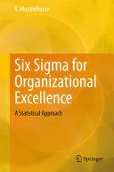 Six Sigma for Organizational Excellence Pdf/ePub eBook