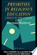 Priorities In Religious Education