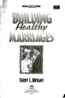 Building Healthy Marriages