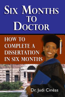 Pdf Six Months to Doctor Telecharger