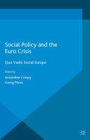 Social Policy and the Eurocrisis Pdf/ePub eBook