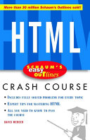 Schaum s Easy Outline of HTML