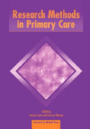 Research Methods in Primary Care