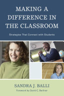 Making a Difference in the Classroom Book