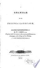 A Grammar of the Telinga Language