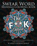 Swear Word Mandala Coloring Book
