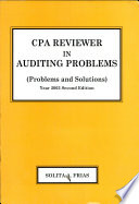 Cpa Reviewer in Auditing Problems