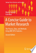 A Concise Guide to Market Research