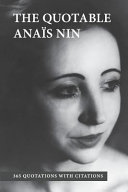 The Quotable Anais Nin