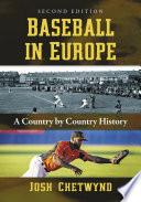 Baseball in Europe Book