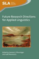 Future Research Directions for Applied Linguistics [Pdf/ePub] eBook