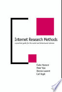 Internet Research Methods