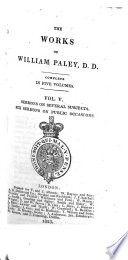 Works Complete  in Five Volumes  to which is Prefixed a Life of the Author Book