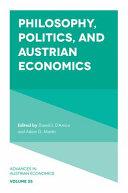 Philosophy, Politics, and Austrian Economics Pdf/ePub eBook