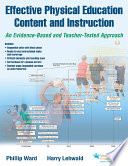 Effective Physical Education Content and Instruction