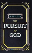 The Pursuit of God Book