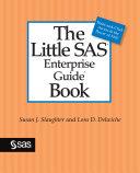 Pdf The Little SAS Enterprise Guide Book Telecharger