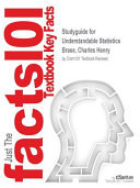Studyguide for Understandable Statistics by Brase  Charles Henry  ISBN 9781337349109