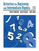 Activities for Beginning and Intermediate Algebra
