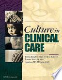 Culture in Clinical Care