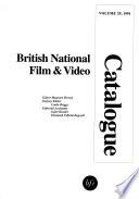 British National Film & Video Catalogue