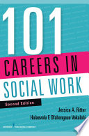 link to 101 careers in social work in the TCC library catalog