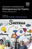 Research Handbook on Entrepreneurial Teams Book PDF