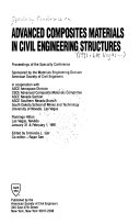 Advanced Composites Materials in Civil Engineering Structures