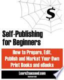 Self Publishing For Beginners