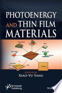 Photoenergy and Thin Film Materials Book