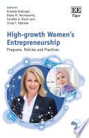 High-growth Women's Entrepreneurship