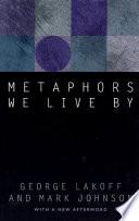 Metaphors We Live By Book PDF