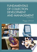 Fundamentals Of Collection Development And Management Book PDF