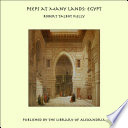 Peeps at Many Lands: Egypt by Robert Talbot Kelly PDF